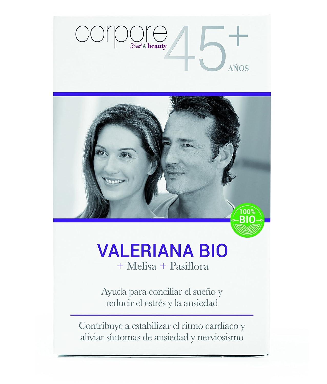 Corpore+45 Comprimidos de Valeriana BIO - 2 Paquetes de 45 Unidades: Amazon.es: Salud y cuidado personal