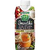 カゴメ 野菜生活100 Smoothie アーモンドミルク&いちごマキベリーMix 330ml×12本