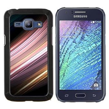 For Samsung Galaxy J1 J100 Case , Sensor de movimiento- Diseño Patrón Teléfono Caso Cubierta