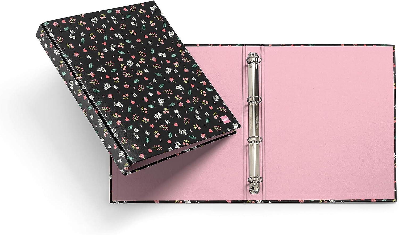 Miquel Rius - Pack de 2 archivadores con anillas: Amazon.es: Oficina y papelería