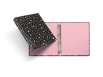 Miquelrius - Pack con 2 carpetas cartón, 4 anillas de 25 mm A4, sakura: Amazon.es: Oficina y papelería