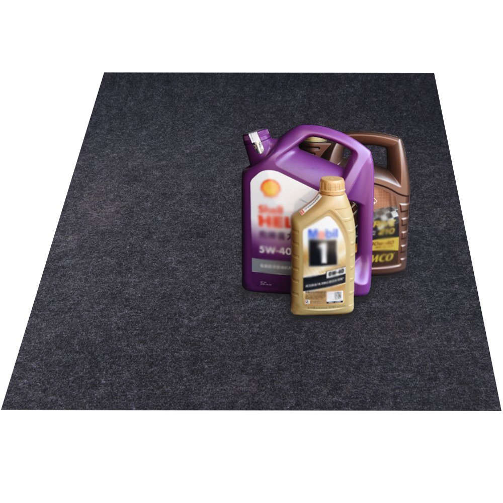 KALASONEER Oil Spill Mat (5' x 3'), Premium Absorbent Oil Mat Reusable Lightweight Washable Oil Pad Contains Liquids, Protects Garage Or Shop/Parking/Floor/Driveway Surface (36'' x 60'')
