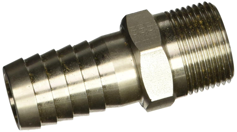 1-11-1//2 NPTF Male Pipe Thread 1 Hose ID 1-11-1//2 NPTF Male Pipe Thread 1 Hose ID Eaton Hansen LLS35 Stainless Steel Hose Stem