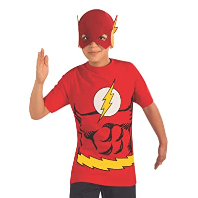 Rubie's Costume The Flash Child Costume T-Shirt, Small: Toys & Games