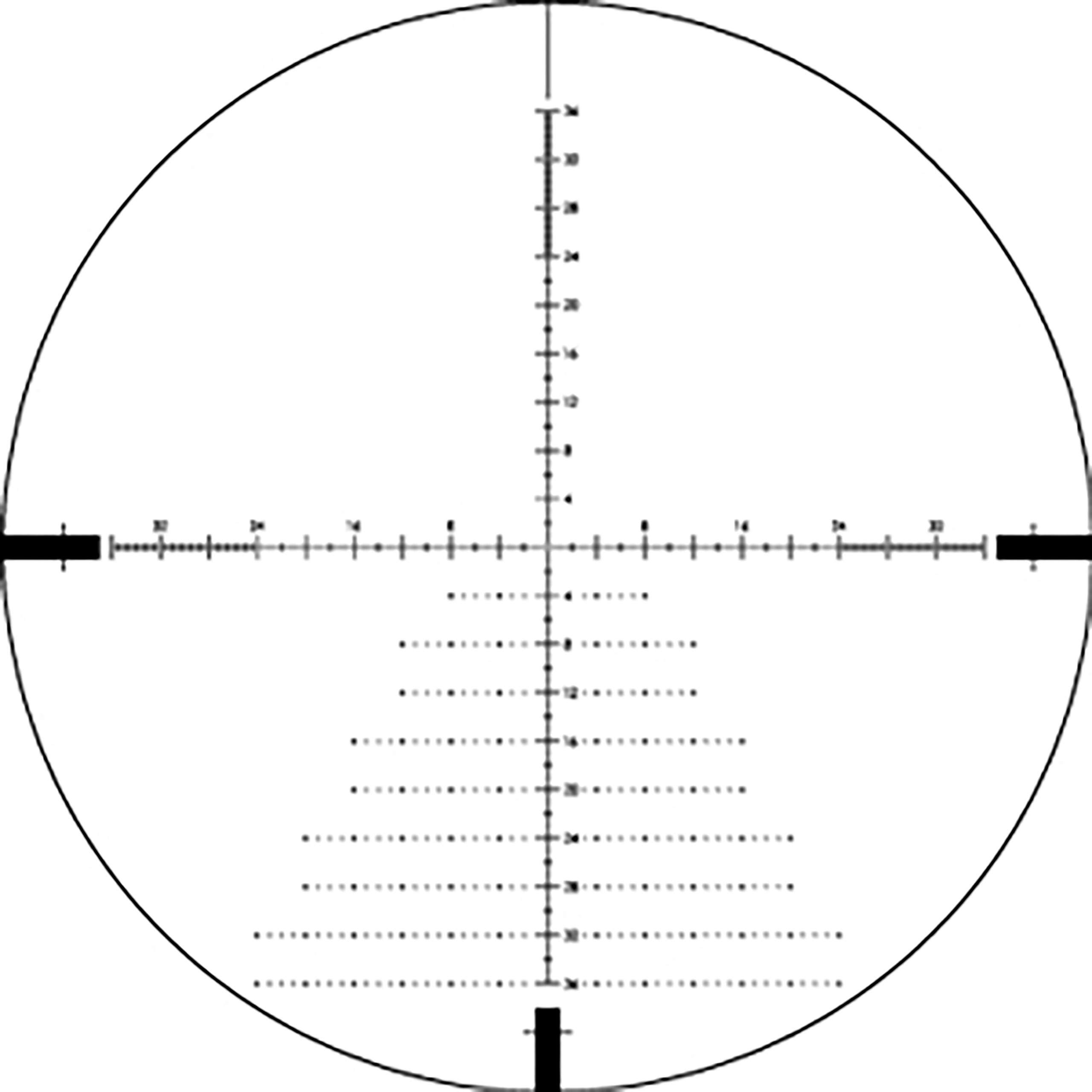 Vortex Optics Diamondback Tactical 6-24x50 First Focal Plane Riflescopes - EBR-2C (MOA) Tactical Reticle by Vortex Optics