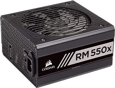 Corsair RMX Series (2018), RM550x, 550 Watt, 80+ Gold Certified, Fully Modular Power Supply
