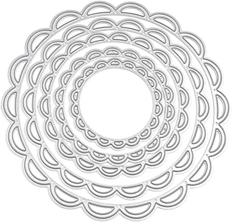 Circle Cutting Dies Stencil DIY Scrapbooking Embossing Album Paper Card Crafts