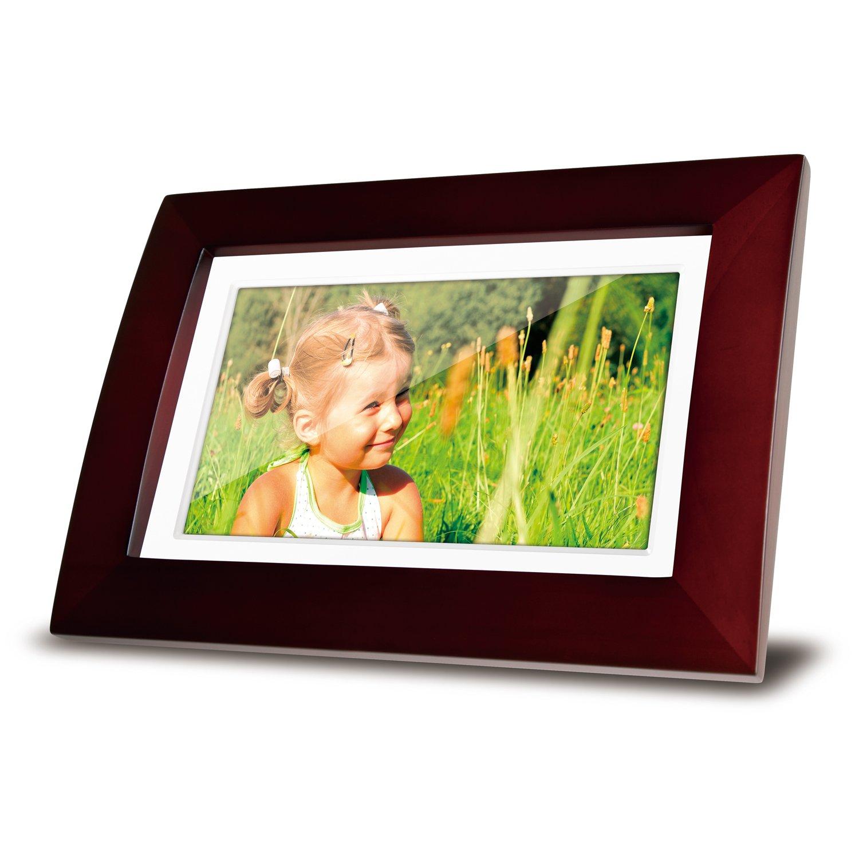 Amazoncom Viewsonic Vfa720W 10 7 Inch Digital Picture Frame  Wooden Portaretrato