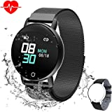 Amazon.com: CanMixs Smart Watch with Heart Rate Monitor IP67 ...