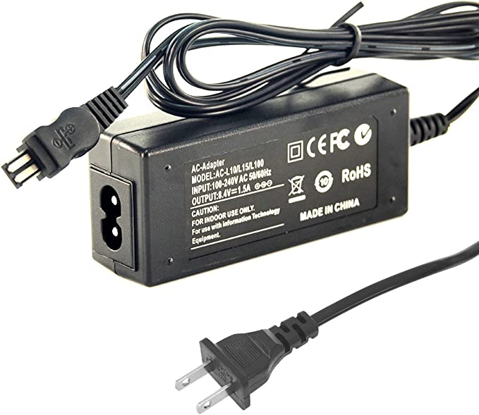 yan AC Adapter Charger for Sony CCD-TR517 CCD-TR57//TR58 CCD-TR555 CCD-TR608 TRV840