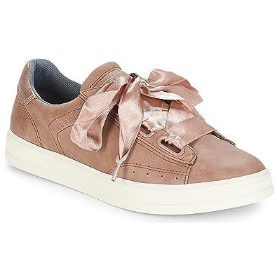 Lu Sneaker Esprit Beige Damen LowSchuhe Sidney jLA354R