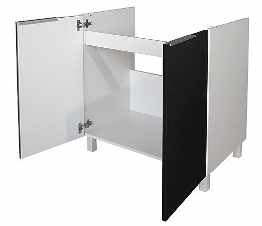 Berlenus CE8BN - Mueble bajo de cocina (para situar debajo de la ...
