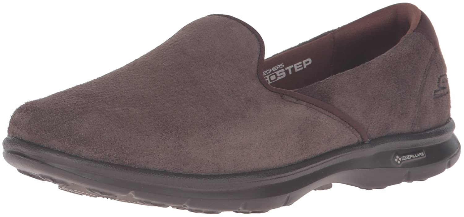 Skechers Performance Women's Go Step Untouched Walking Shoe B01AH87PPM 9.5 B(M) US|Chocolate Suede