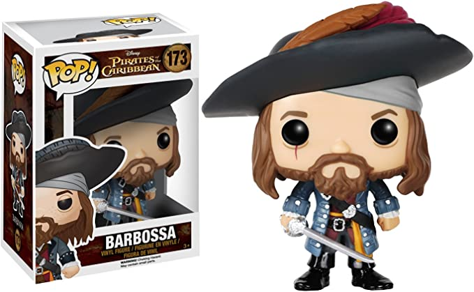 POP! Vinilo - Disney: Pirates: Barbossa: Amazon.es: Juguetes y juegos