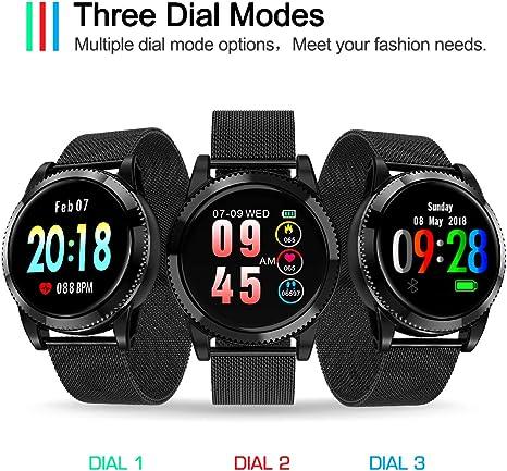 Amazon.com: GOKOO - Reloj inteligente deportivo para hombre ...
