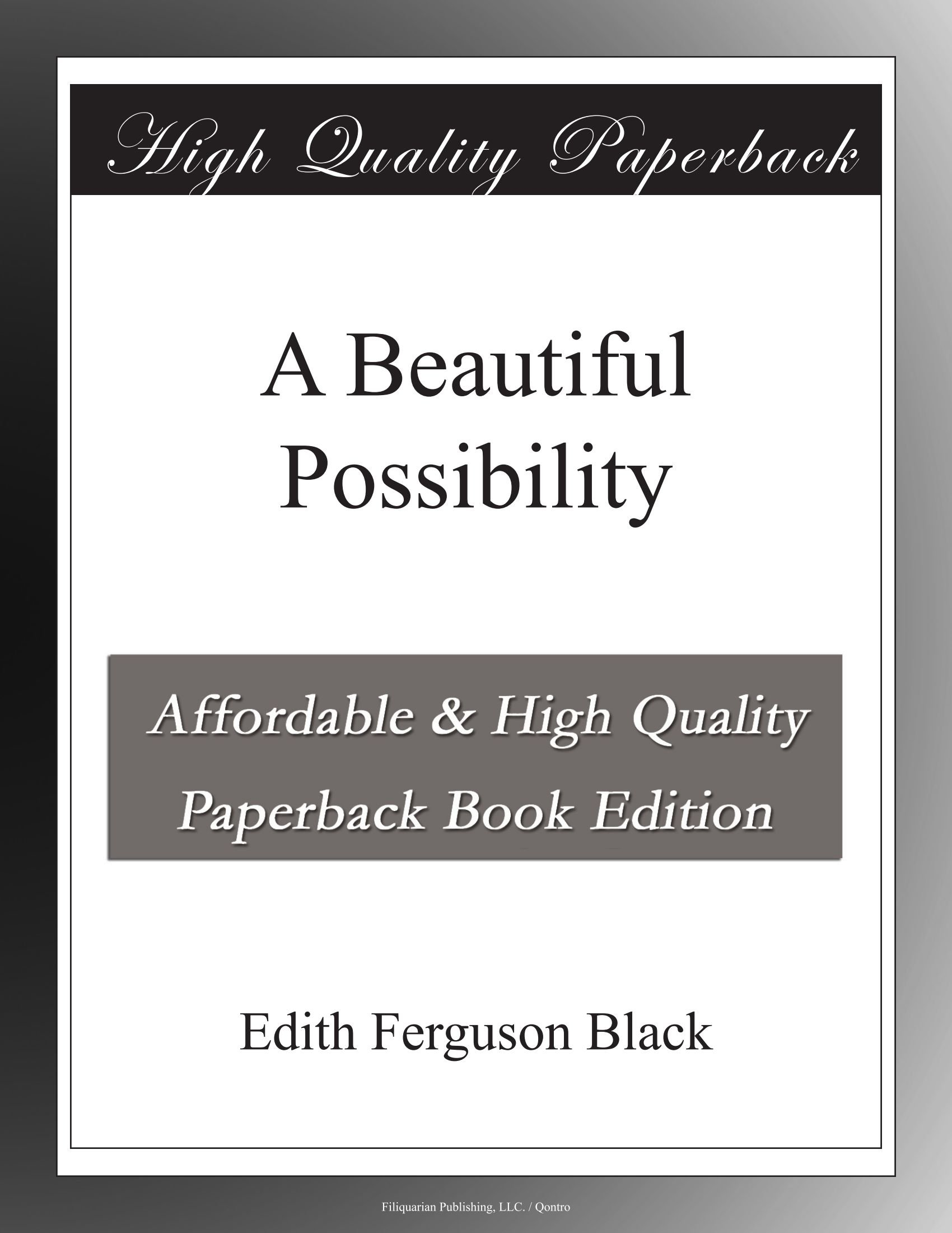 Read Online A Beautiful Possibility ebook