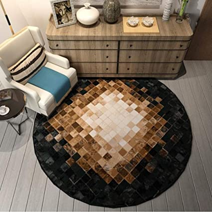 Pleasant Amazon Com Carpet Nordic Wild Round Rugs Computer Chair Creativecarmelina Interior Chair Design Creativecarmelinacom