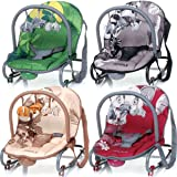 Baby Bouncer JUNGLE (including removable play arch) (RED)