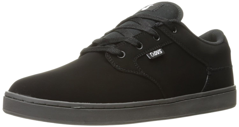DVS Shoes Herren Quentin Skateboardschuhe  43 EU|Schwarz (Black Nubuck 014)