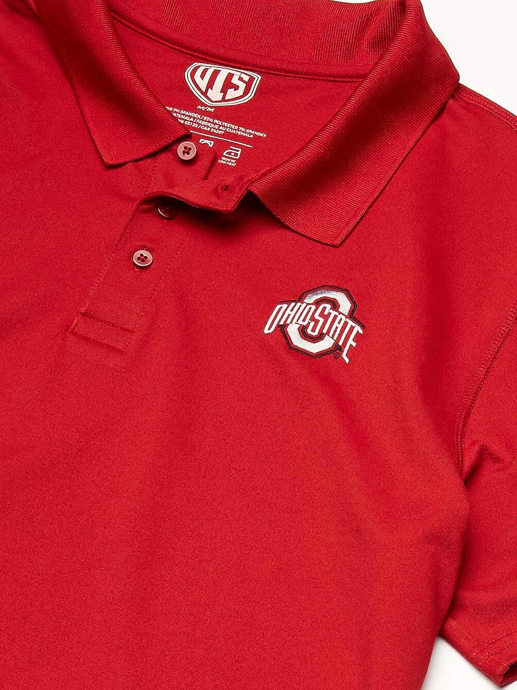 NCAA Mens OTS Sueded Short Sleeve Polo Shirt