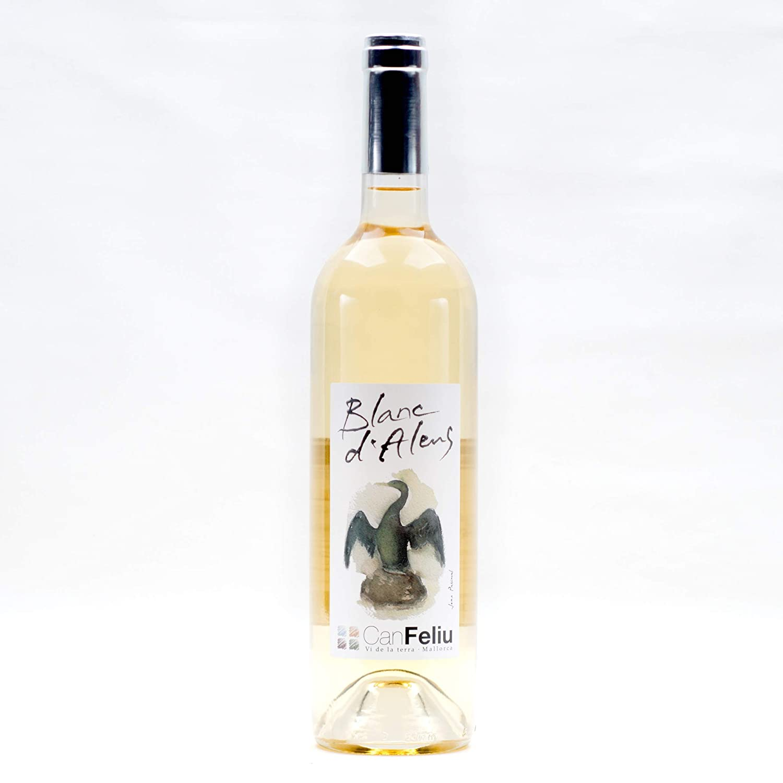 Vino blanco Blanc dAlens ecológico y biodinámico - Can Feliu ...