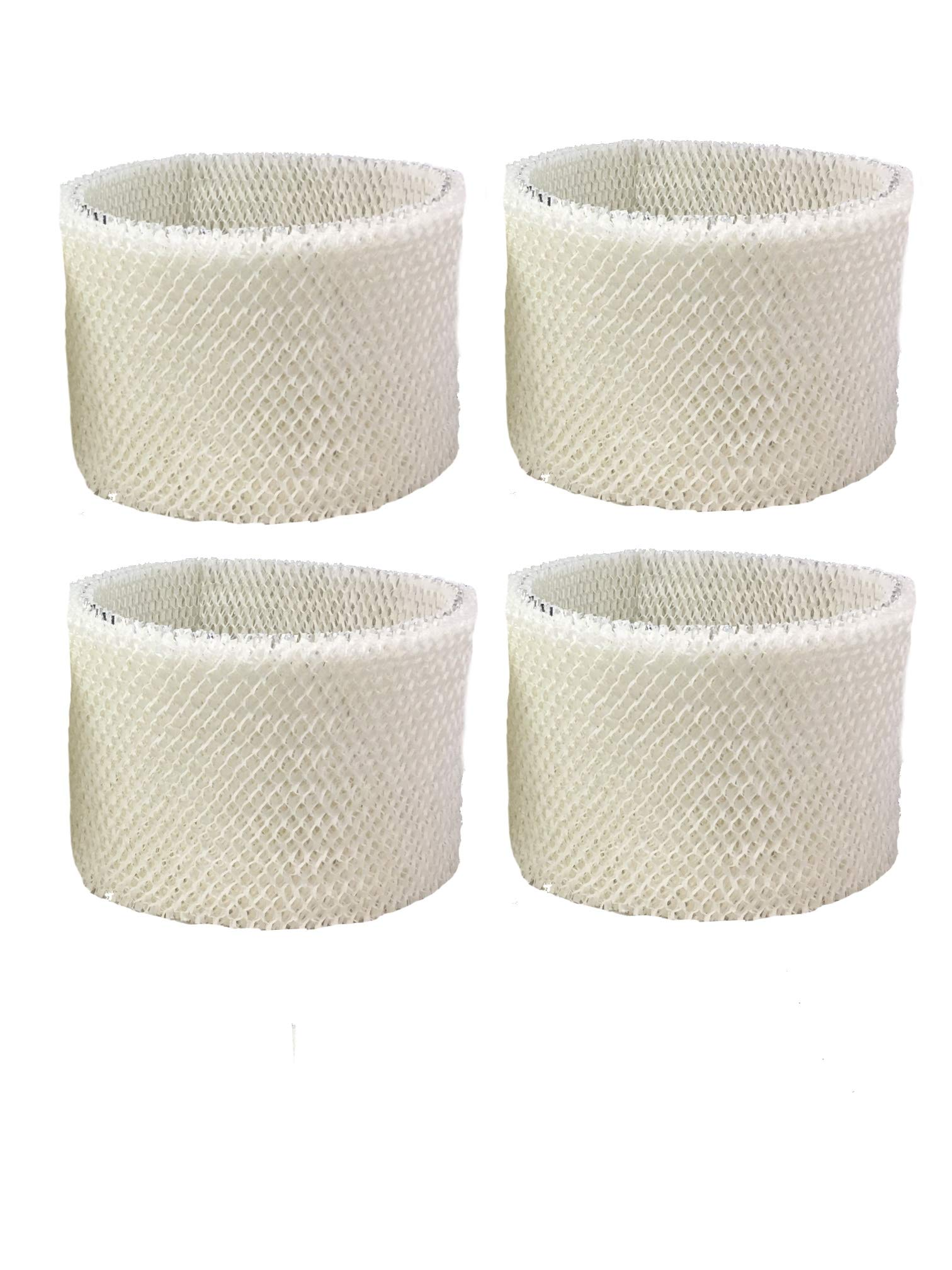 Air Filter Factory 4 Pack Compatible Replacement for Emerson MA-0600, Kenmore MA-0800, MA-80000, MAF2 Humidifier Wick Filters by Air Filter Factory