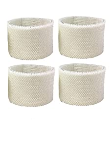 Air Filter Factory 4 Pack Compatible Replacement For Kenmore 14906 Humidifier Wick Filter