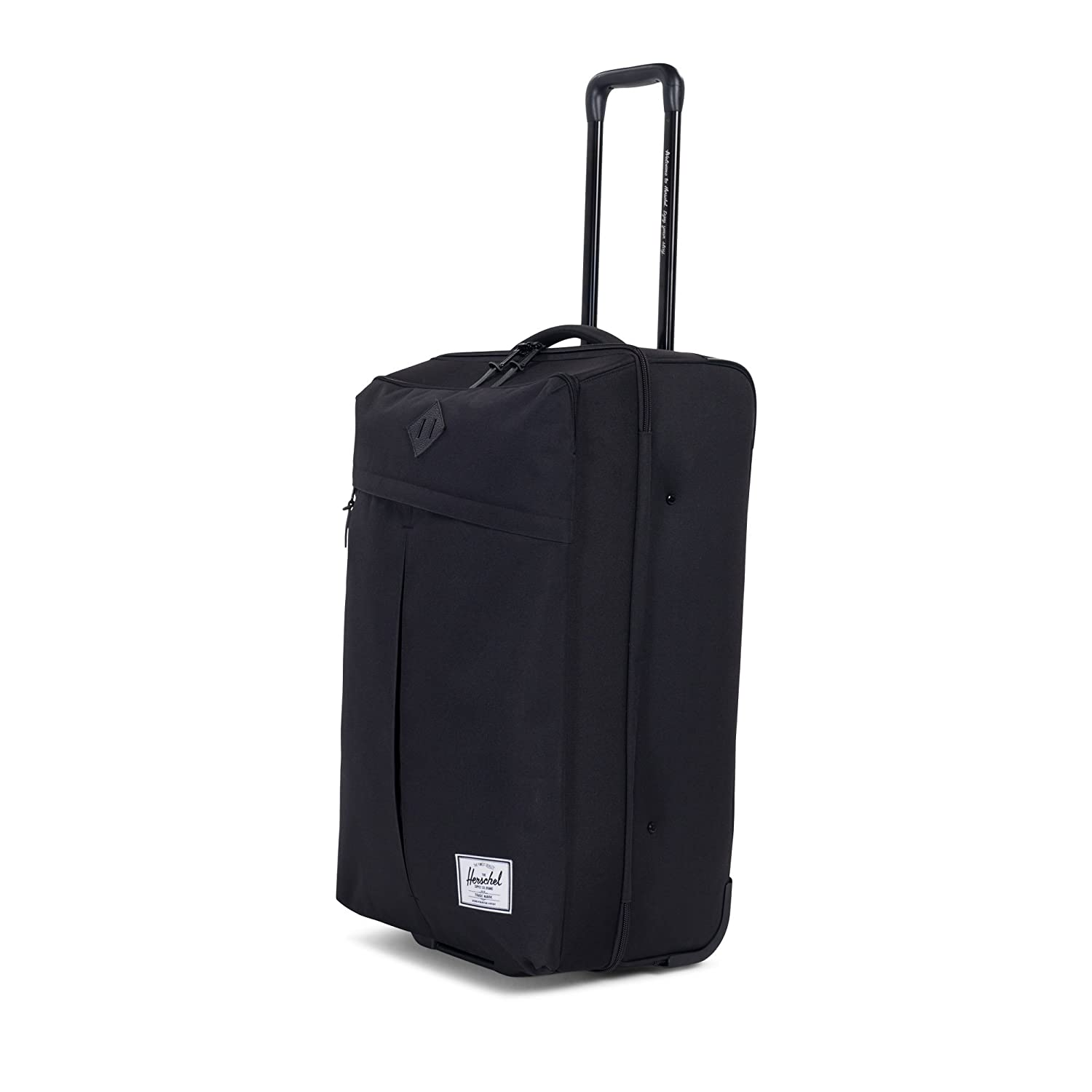 ccb55e9adb2 Amazon.com   Herschel Supply Co. Parcel, Black, One Size   Suitcases