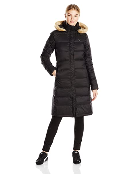 affeb5d0a1eb PUMA Women s Active Lite Long Down Jacket