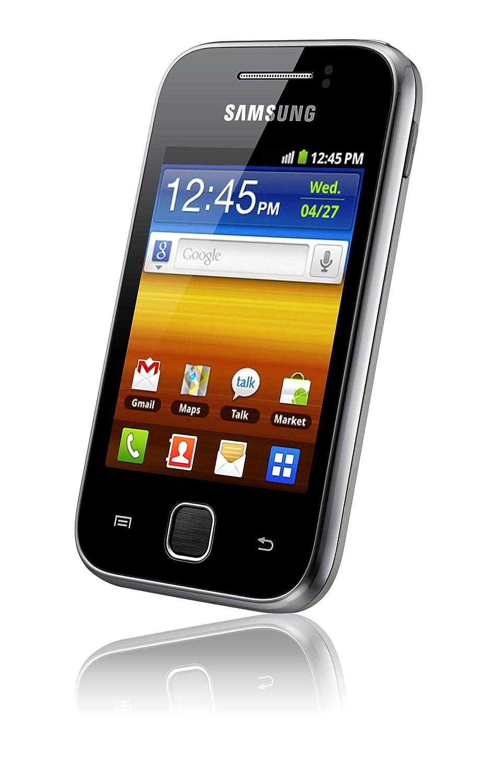 Samsung S5360 Galaxy Y Sim Free Mobile Phone - Metallic: Amazon.co.uk:  Electronics
