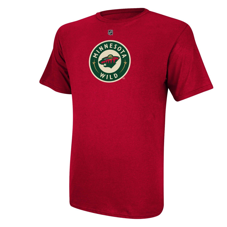 8c6730b66 ... Amazon.com Minnesota Wild Thomas Vanek Red Name and Number T-Shirt  Sports Outdoors ...
