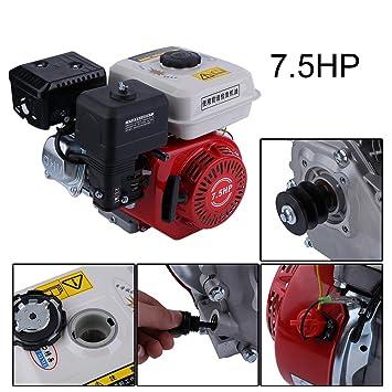Luckywing 7.5HP Benzinmotor Starter Benzin Motor Single Zylinder ...