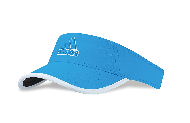 4b53bbb230f56 2014 Adidas Ladies Princess Golf Visor - Solar Blue  Amazon.co.uk  Sports    Outdoors