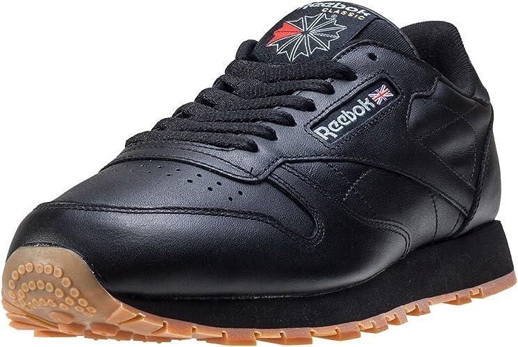 Reebok Herren Classic Leather Low Top, weiß, 40 EU