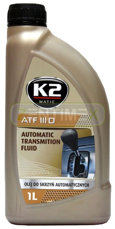 Automatik-Getriebeö l ATF III D Dexron 3 D Automatikgetriebe Automatikö l Getriebeö l Ö l Automatik Servolenkung Servolenkungsö l automatische Schaltung 1l General Motors GM DEXRON III, Mercedes-Benz MB 236.1, ZF TE-ML 09, 14, M2C