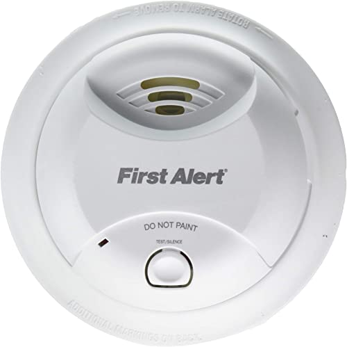 First Alert SA350B Smoke Alarm – Dual Ionization Sensor – Detects Flaming Fires – Battery Operated – Sealed Lithium Battery by BRK