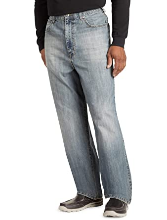 83ab65f233f True Nation by DXL Big and Tall Loose Fit Jeans at Amazon Men s Clothing  store