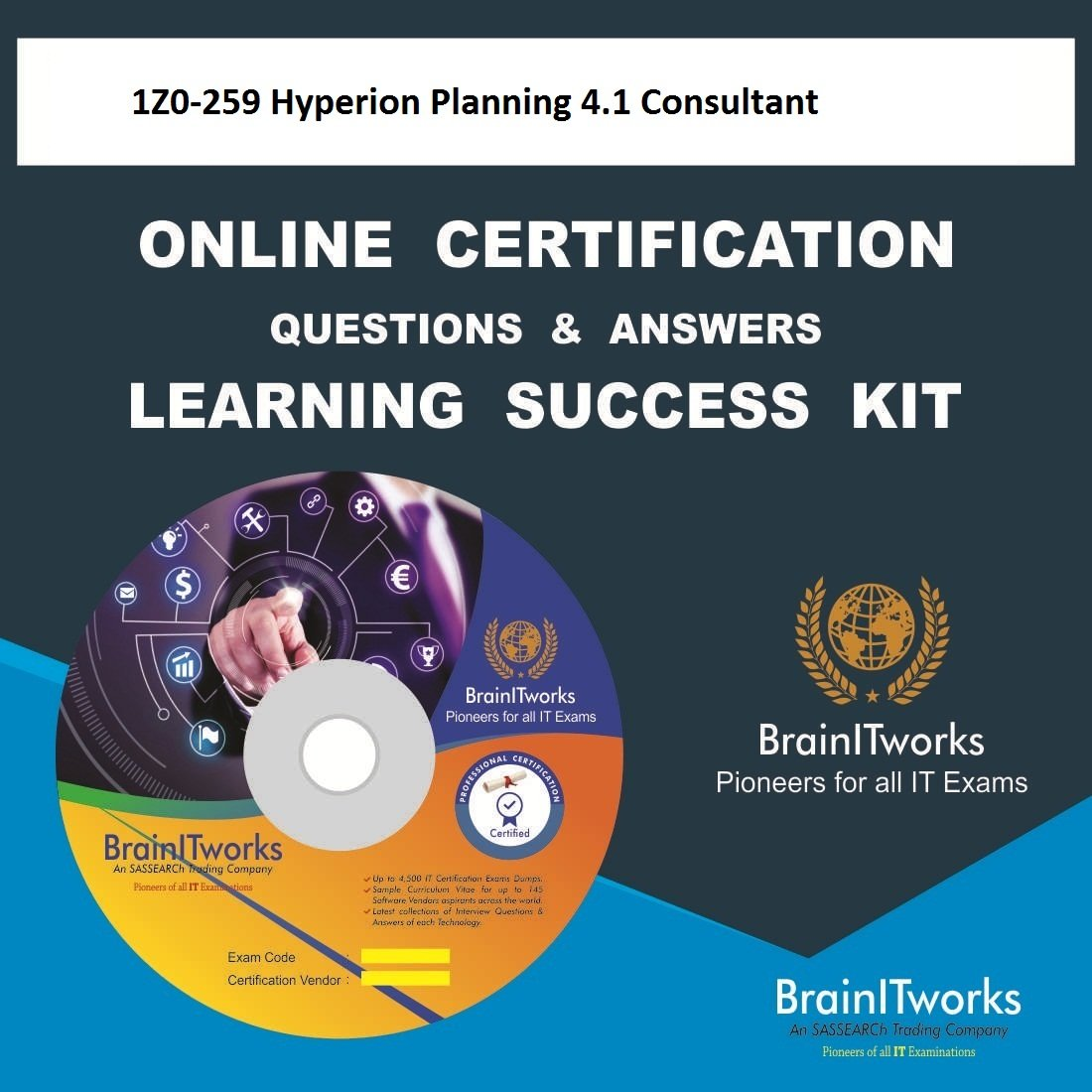 Amazon 1z0 259 Hyperion Planning 41 Consultant Online