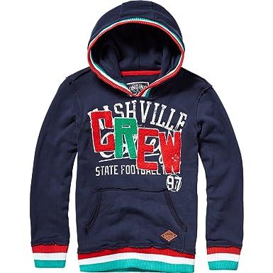 7344241181 Vingino Sweatshirt Hoodie NEVY Jungen dark blue (140): Amazon.de ...