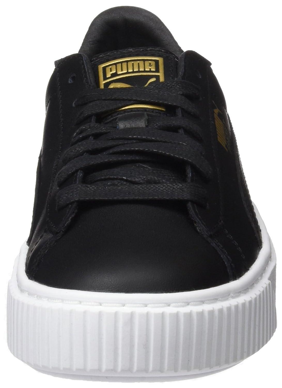 728c11063327f4 Puma Damen Basket Platform Core Sneaker  Amazon.de  Schuhe   Handtaschen