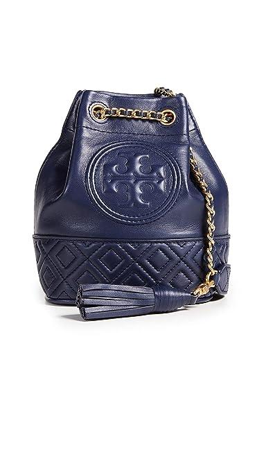 9a7e808b879d Tory Burch Women s Fleming Mini Bucket Bag