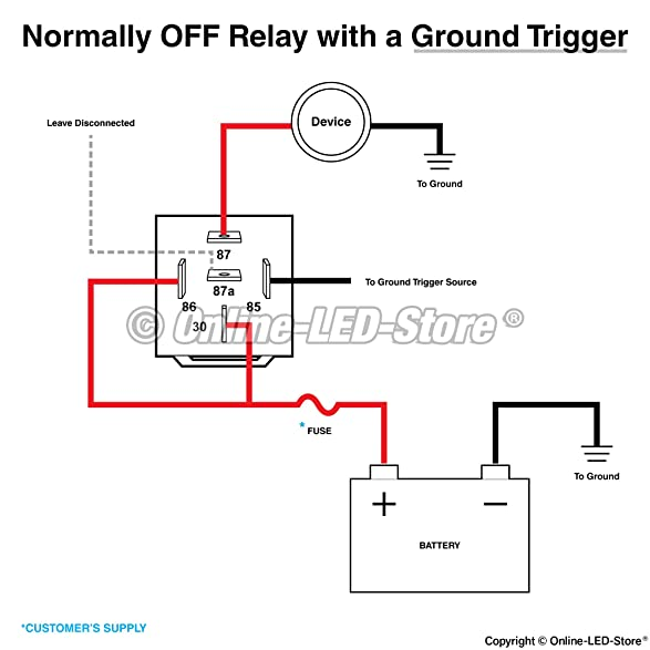 71GuwPJ2RaL._SY587_ wiring diagram for absolute rls125 relay relay drawing \u2022 indy500 co H8QTB Ford Relay Wiring Diagram at edmiracle.co