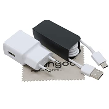 Cargador para Original Flash Rápido Samsung 2A + Cable de carga USB Tipo C 1,5m para S10 / Galaxy S10 Plus/Galaxy S10e / Galaxy A30 / Galaxy A50 con ...