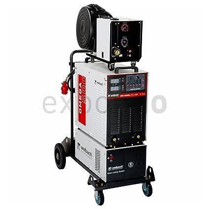 Welbach - OMEGA 500 - Equipo de soldar MIG-MAG - 400 V - max