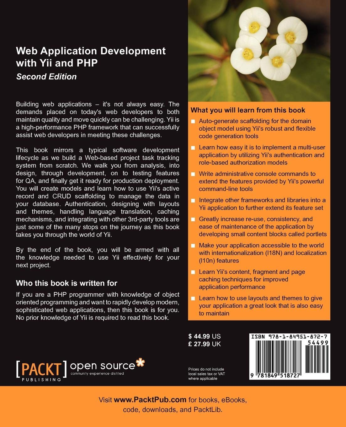 Web Application Development with Yii and PHP: Amazon in: Jeffrey