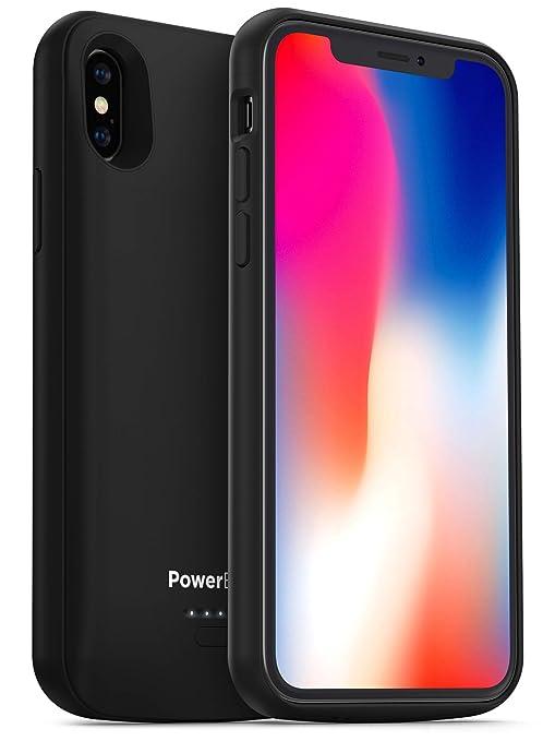 Amazon.com: PowerBear - Carcasa con batería para iPhone X/XS ...