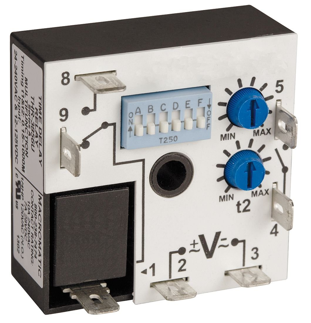 Encapsulated Timer Relay, 10A, Relay MACROMATIC