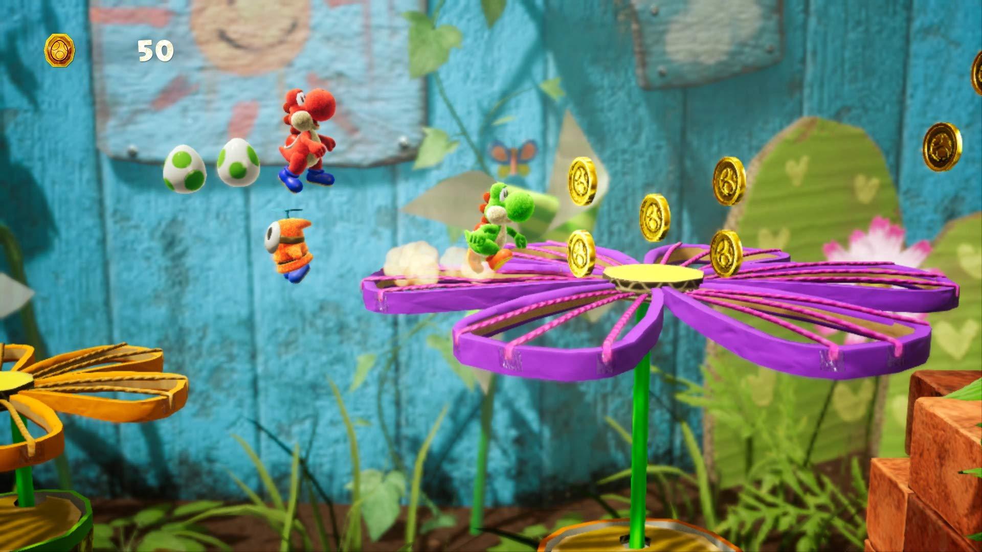 Yoshi's Crafted World - Nintendo Switch by Nintendo (Image #9)