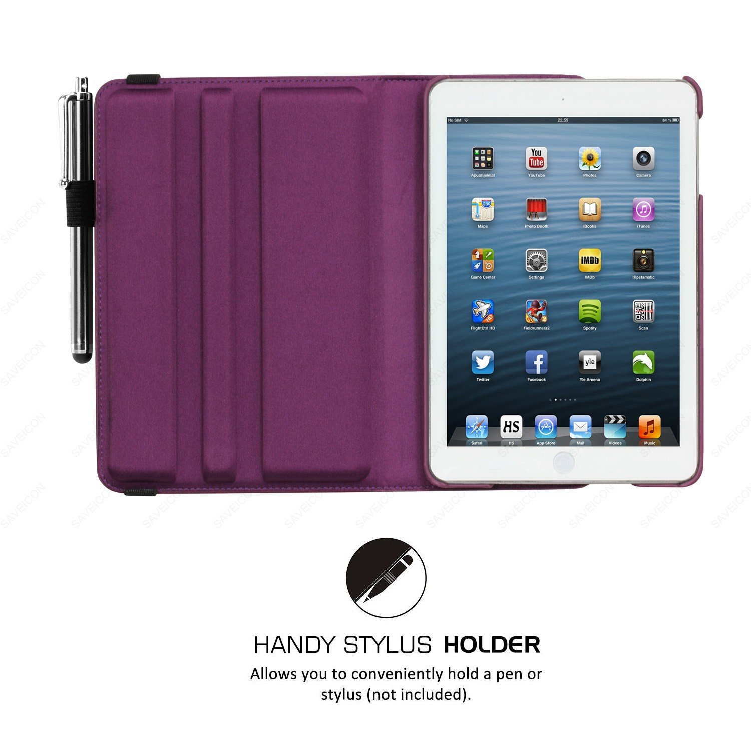 purple rotating stand new phone case holder accessories for apple