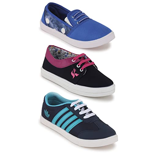 Scantia New Latest Fashionable With Stylish Attractive Look Women Girls  Combo Casual Trendy Shoes comfortable to ... 340a9d665